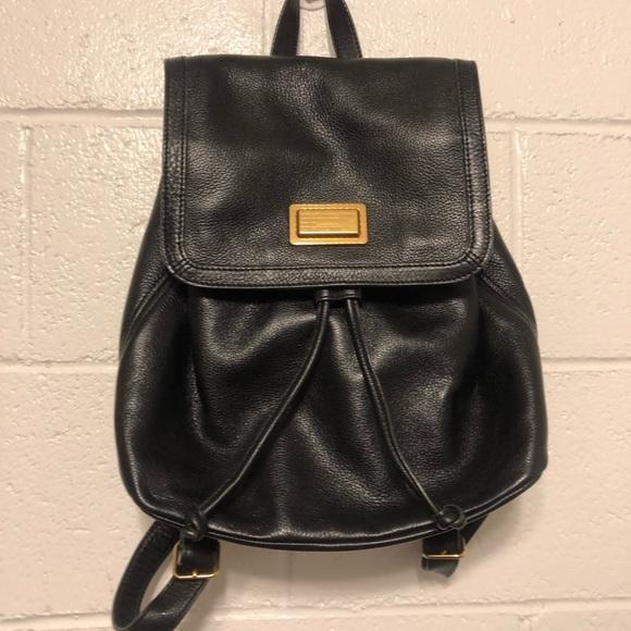 dc30388073 Marc Jacobs black leather backpack. M 5bbafe893c9844ced007c1e3